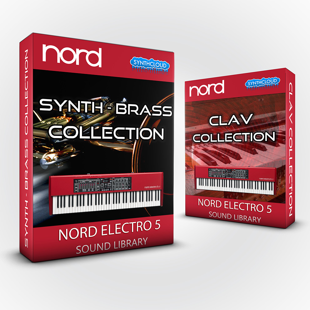 ASL014 - ( Bundle ) - Synth - Brass Collection + Clav Collection - Nord Electro 5 Series