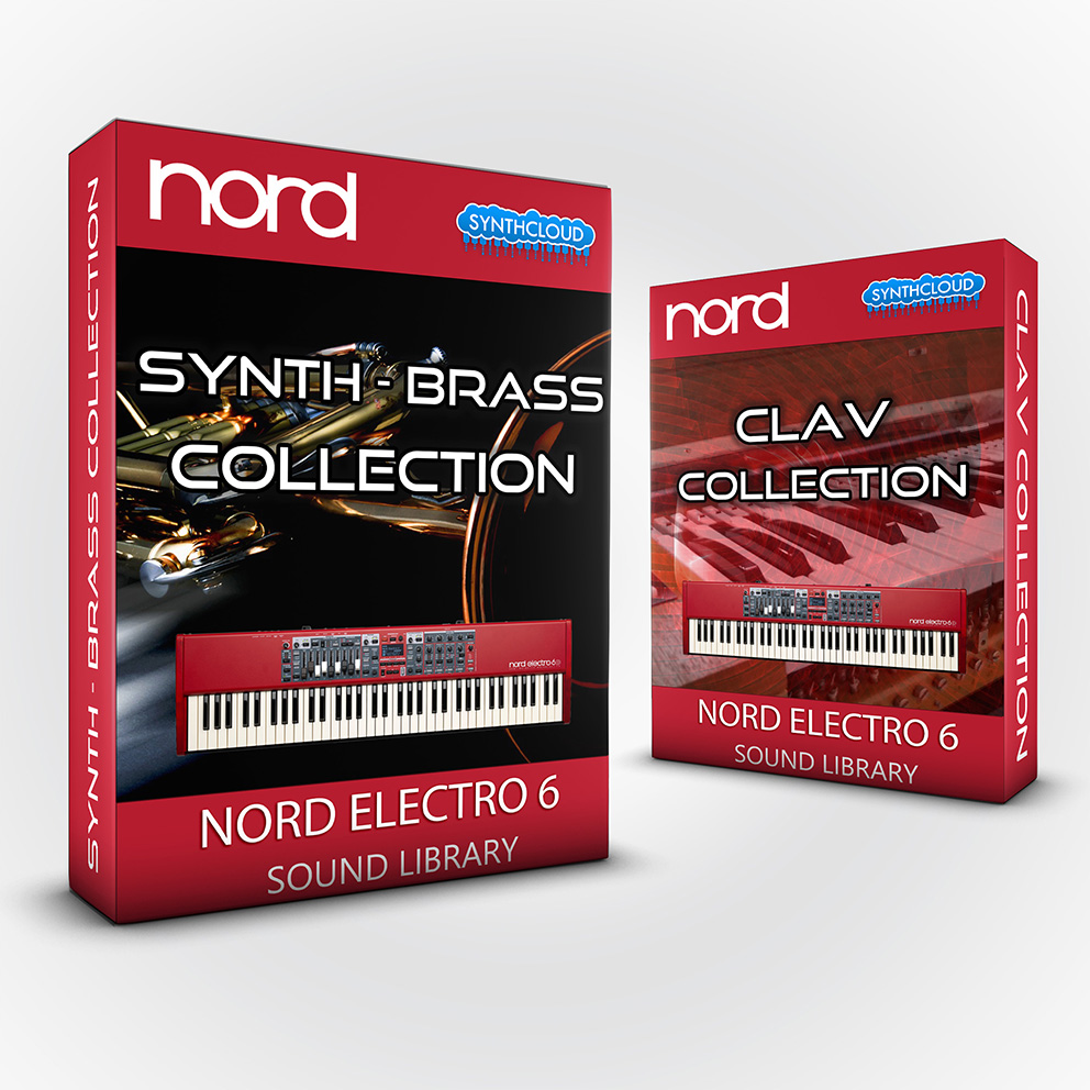 ASL014 - ( Bundle ) Synth - Brass Collection + Clav Collection - Nord Electro 6 Series
