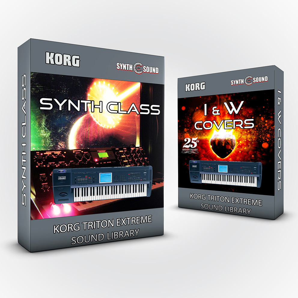 SSX109 - ( Bundle ) Synth Class + I&W Covers - Korg Triton Extreme