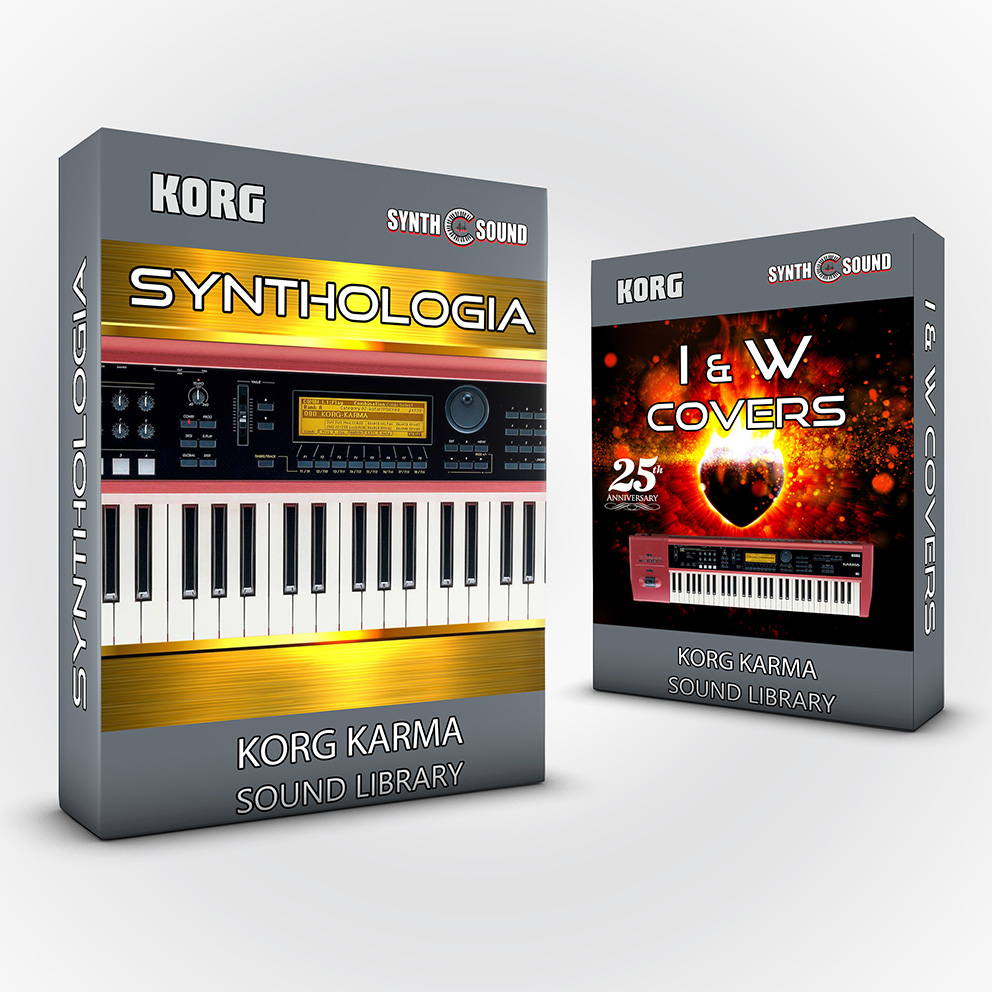 SSX135 - ( Bundle ) Synthologia V1 + I&W Covers - Korg Karma