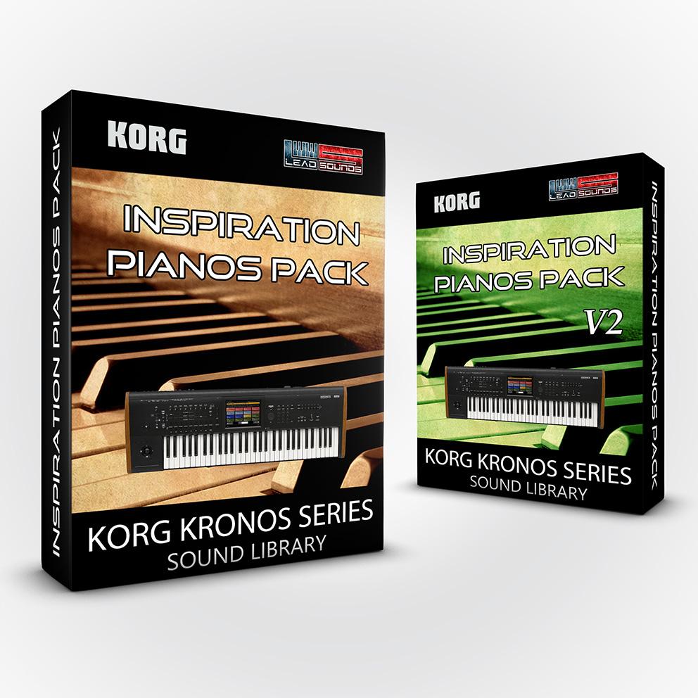 SCL116 - ( Bundle ) - Inspiration Pianos Pack + V2 - Korg Kronos / X / 2