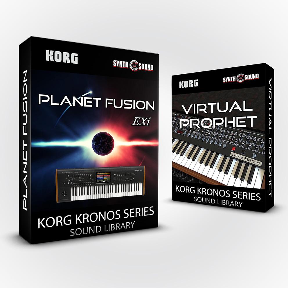 SSX141 - ( Bundle ) - Planet Fusion EXi + Virtual Prophet - Korg Kronos Series