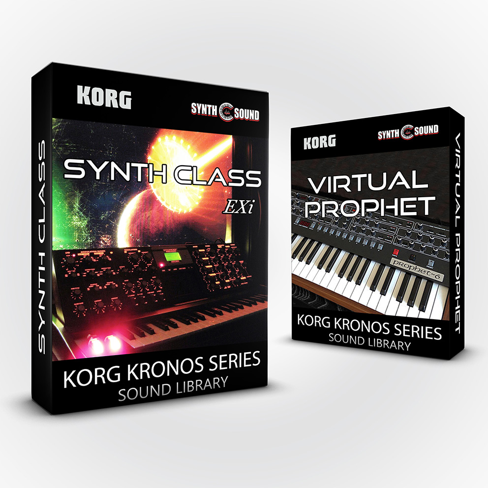SSX142 - ( Bundle ) - Synth Class EXi + Virtual Prophet - Korg Kronos Series