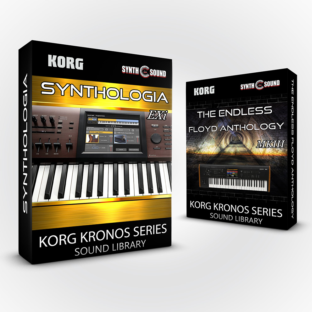 SSX114 - (Bundle) SYNTHOLOGIA EXi + The Endless Floyd Anthology - Korg Kronos Series