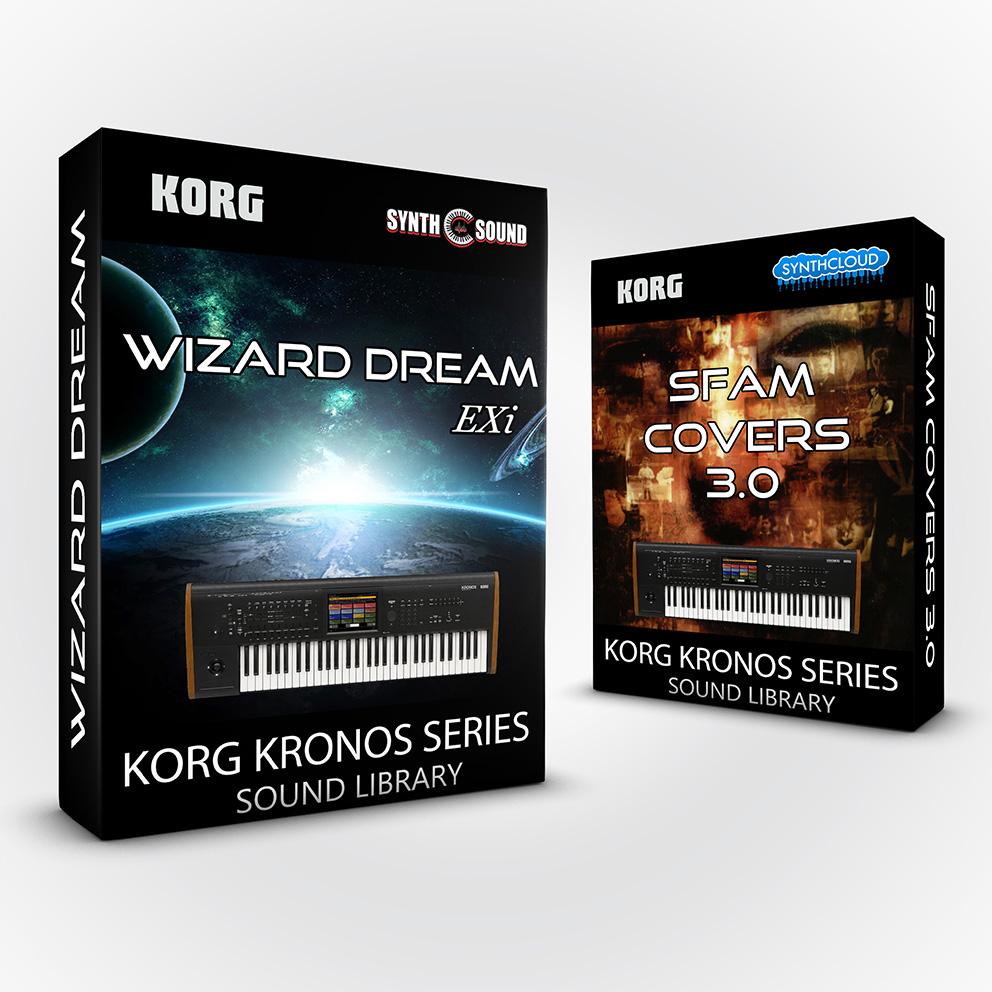 LDX207 - ( Bundle ) - Wizard Dream EXi + Kurzy 4 + Sfam Full 3.0 - Korg Kronos