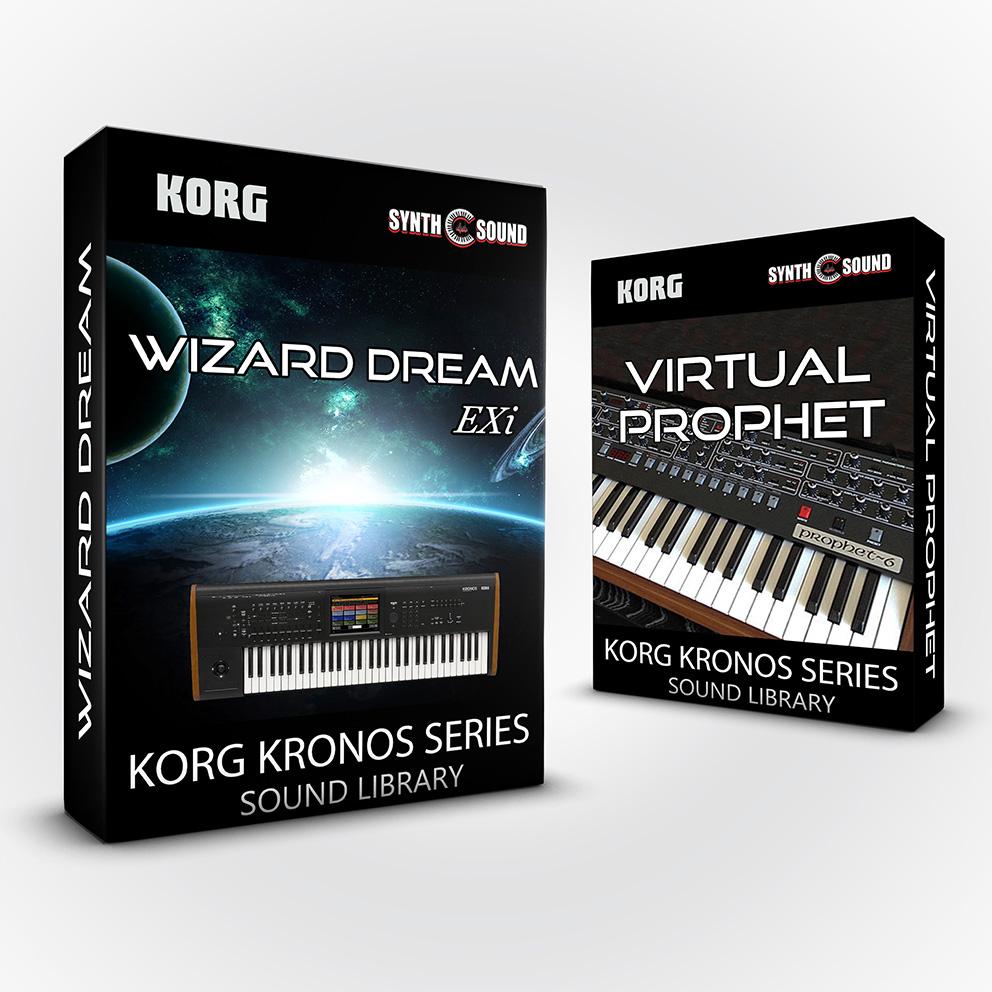 SSX140 - ( Bundle ) - Wizard Dream EXi + Kurzy 4 + Virtual Prophet - Korg Kronos Series