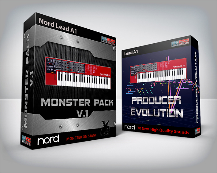 ( Bundle ) Monster Pack + Producer Evolution - Nord Lead A1