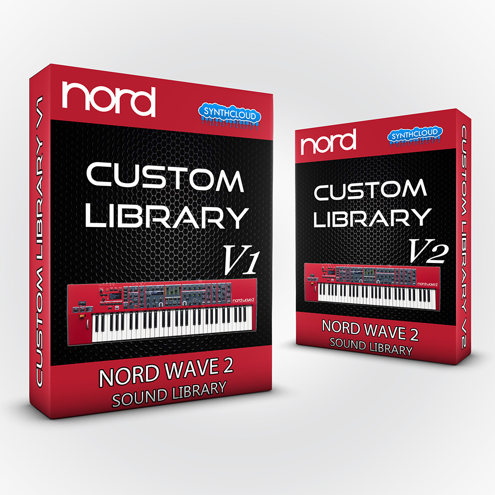 SCL77 - ( Bundle ) - Custom Library V1 + V2 - Nord Wave 2