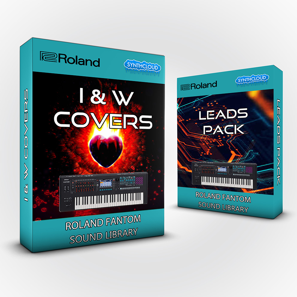 SCL244 - ( Bundle ) - I&W Covers + Leads Pack - Roland Fantom