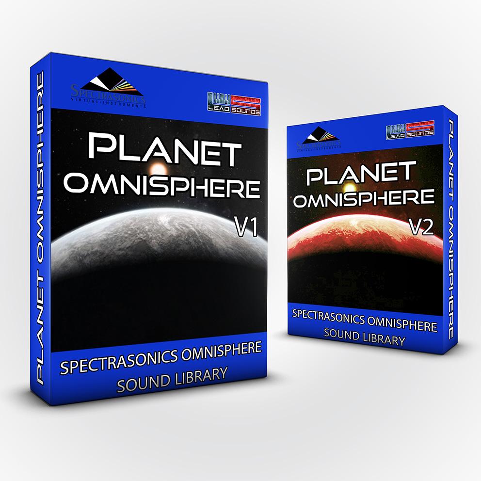 SCL100 - ( Bundle ) Planet Omnisphere Vol.1 + Vol.2 - Spectrasonics Omnisphere