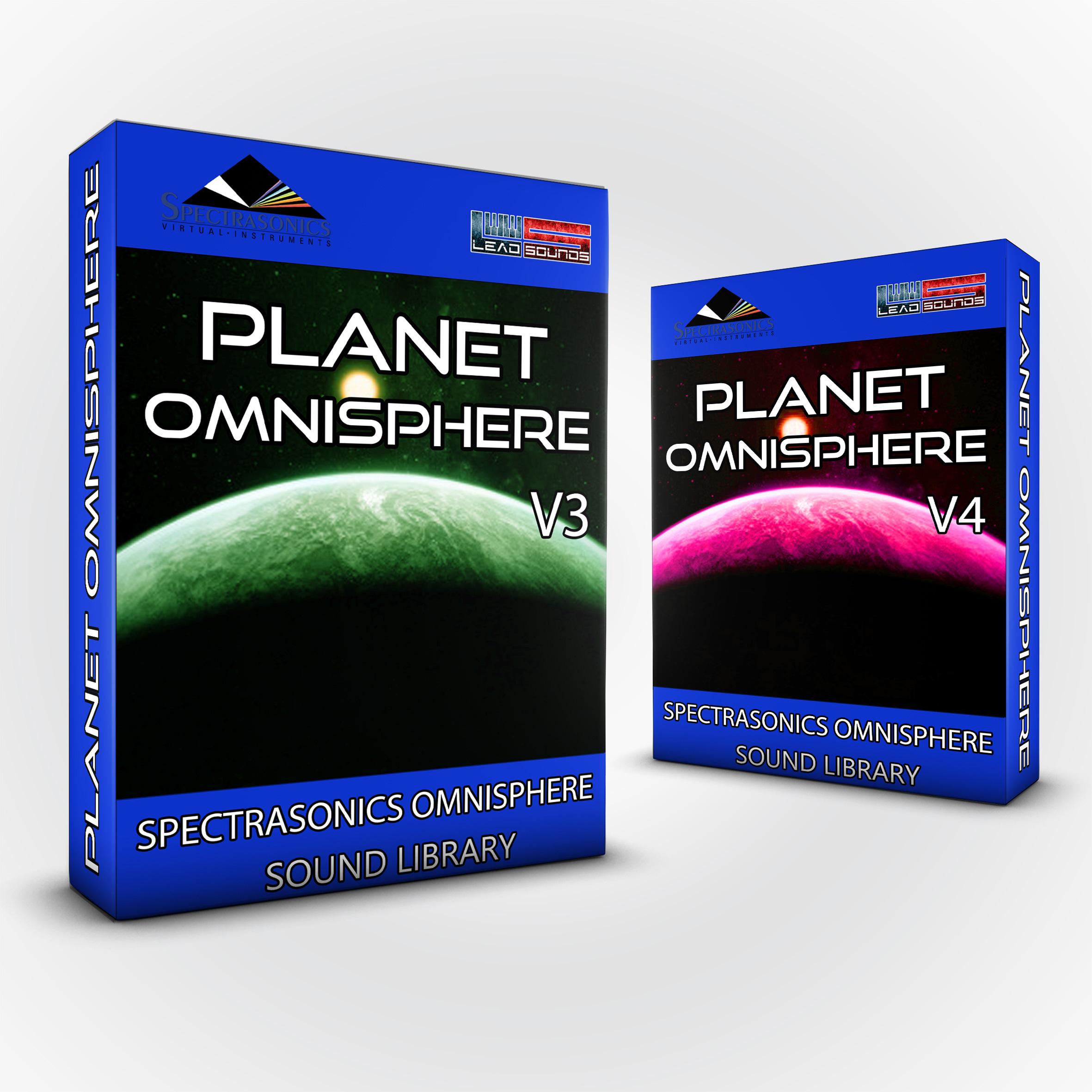 SCL99 - ( Bundle ) Planet Omnisphere Vol.3 + Vol.4 - Spectrasonics Omnisphere