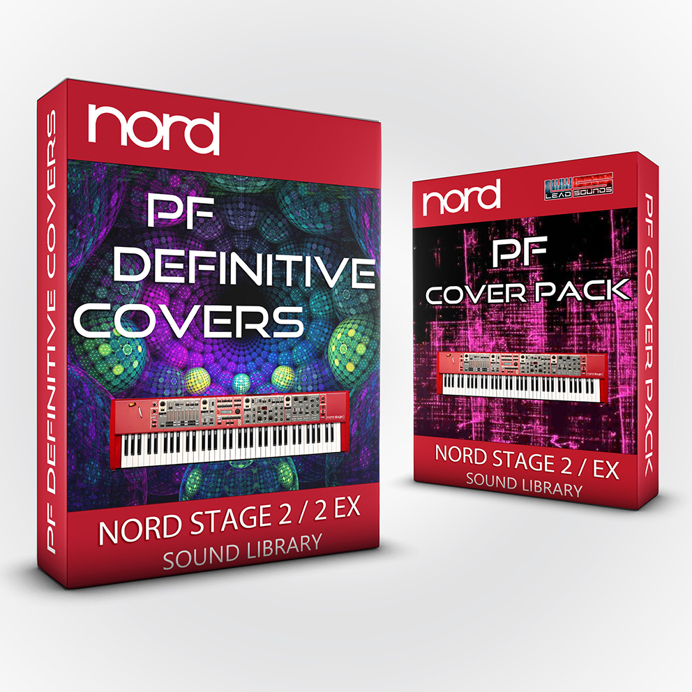 SCL220 - ( Bundle ) - PF Definitive Covers + PF Cover Pack - Nord Stage 2 / 2 EX