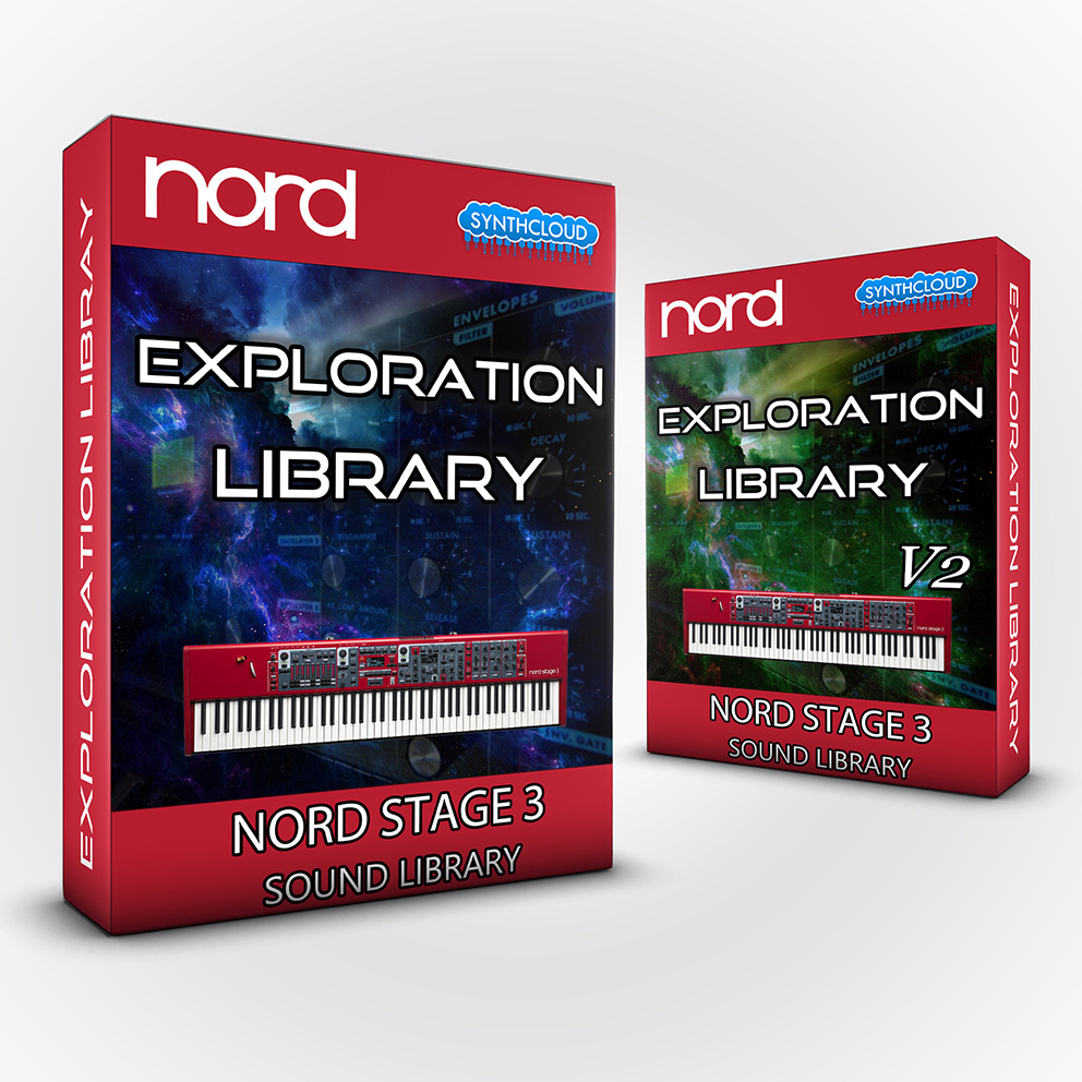SCL128 ( Bundle ) Exploration Library + Exploration Library Vol. 2 - Nord Stage 3