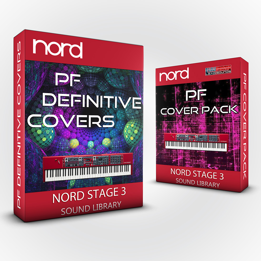 SCL220 - ( Bundle ) - PF Definitive Covers + PF Cover Pack - Nord Stage 3