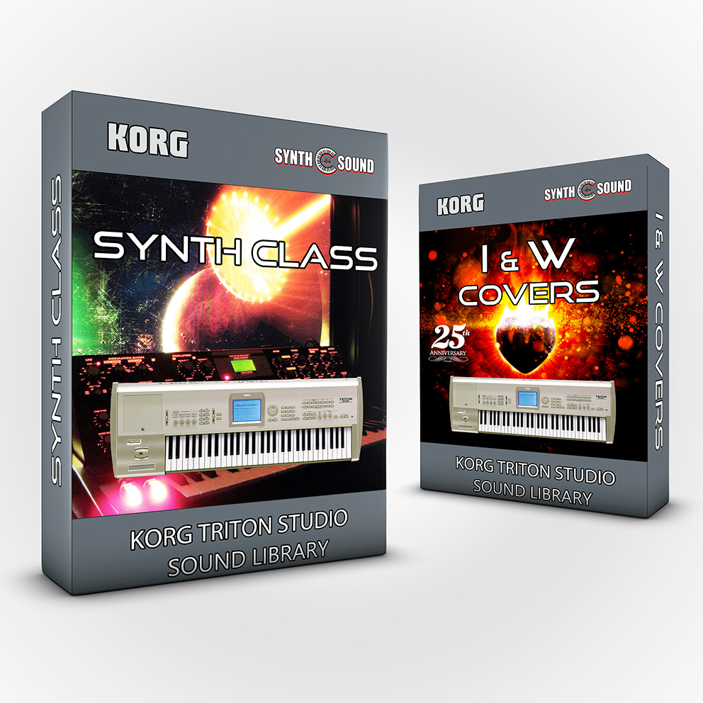 SSX109 - ( Bundle ) Synth Class + I&W Covers - Korg Triton STUDIO