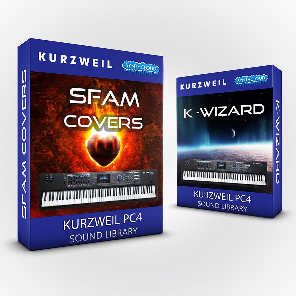 LDX141 - ( Bundle ) SFAM + K-Wizard - Kurzweil PC4