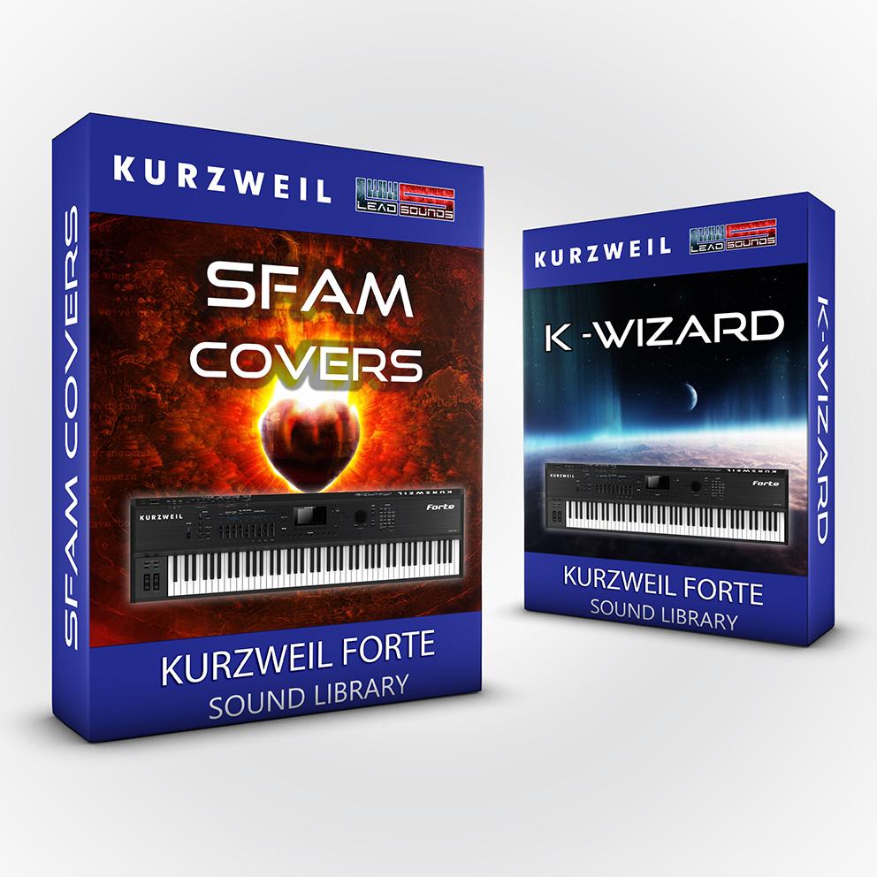 LDX141 - ( Bundle ) - SFAM + K-Wizard - Kurzweil Forte