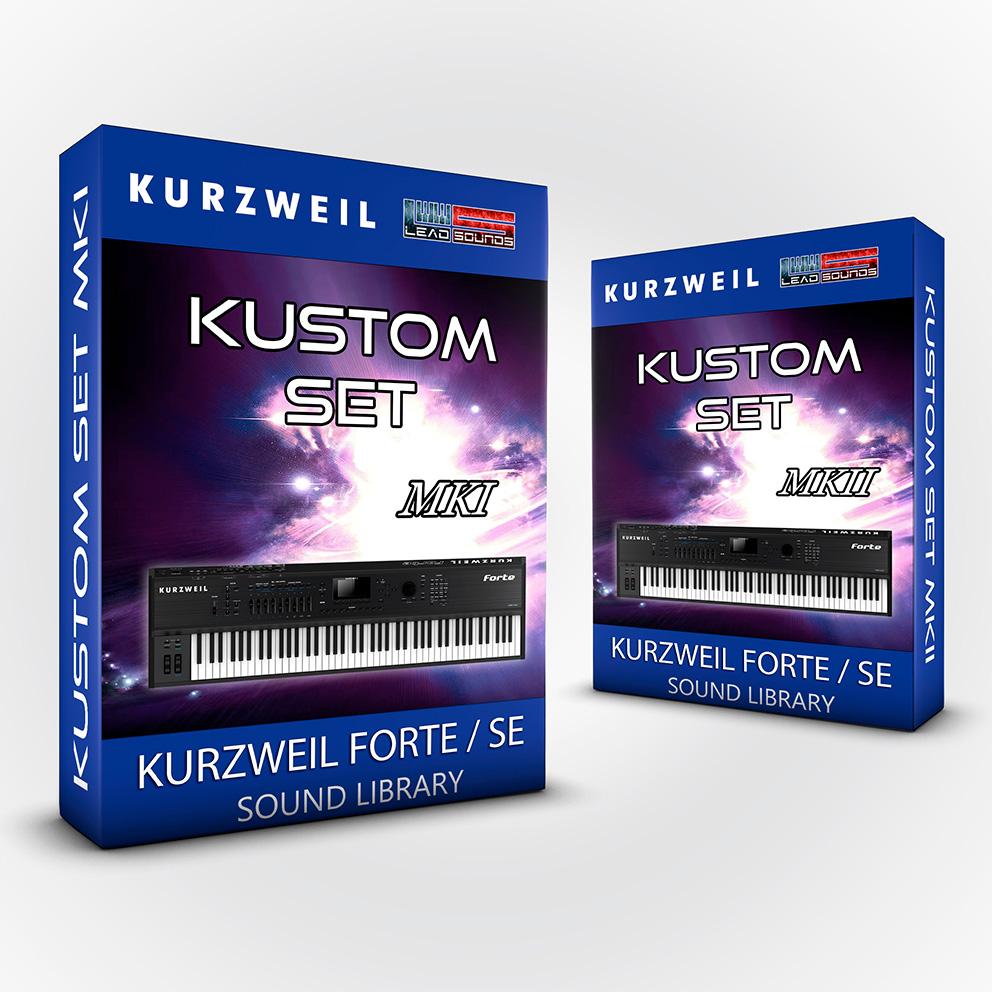 ( Bundle ) Kustom Set + Kustom Set MKII - Kurzweil Forte / SE