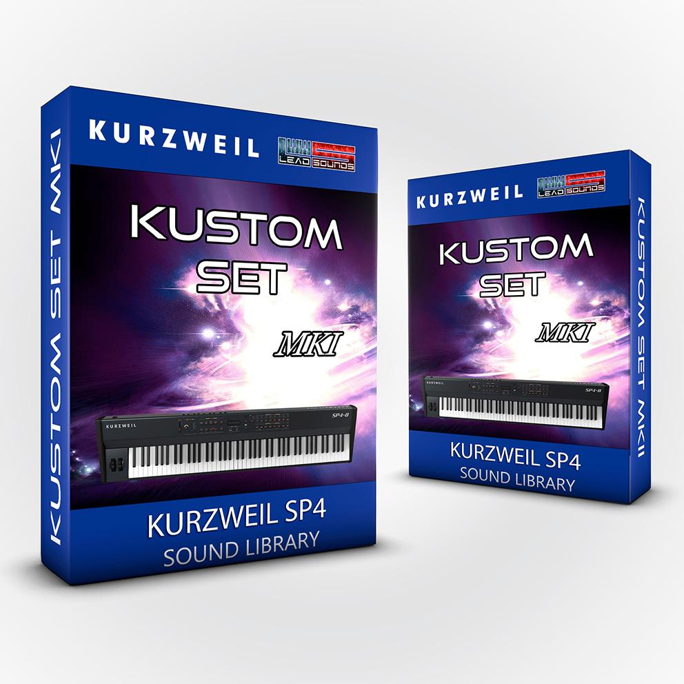 ( Bundle ) Kustom Set + Kustom Set MKII - Kurzweil Sp4