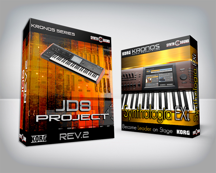 ( Bundle ) SYNTHOLOGIA EXi + JD8 PROJECT - Korg Kronos Series