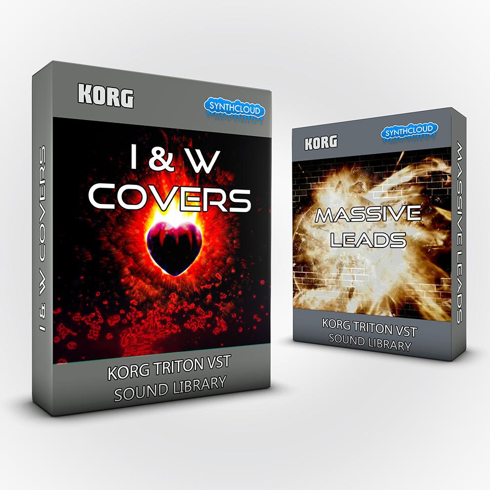 SCL244 - ( Bundle ) - I&W Covers + Massive Leads - Korg Triton VST