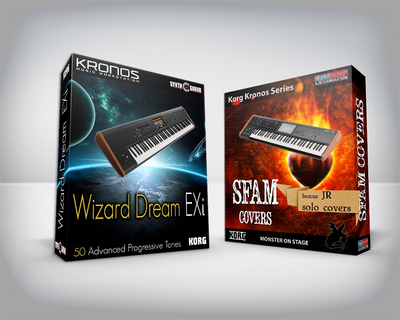 Wizard Dream EXi + Sfam Full Cover + JR Bonus - Korg Kronos