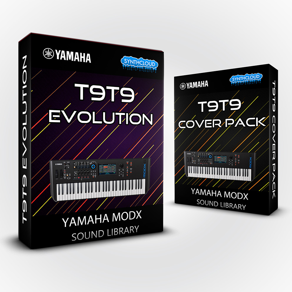 LDX202 - ( Bundle ) T9t9 Evolution + T9t9 cover pack - Yamaha MODX