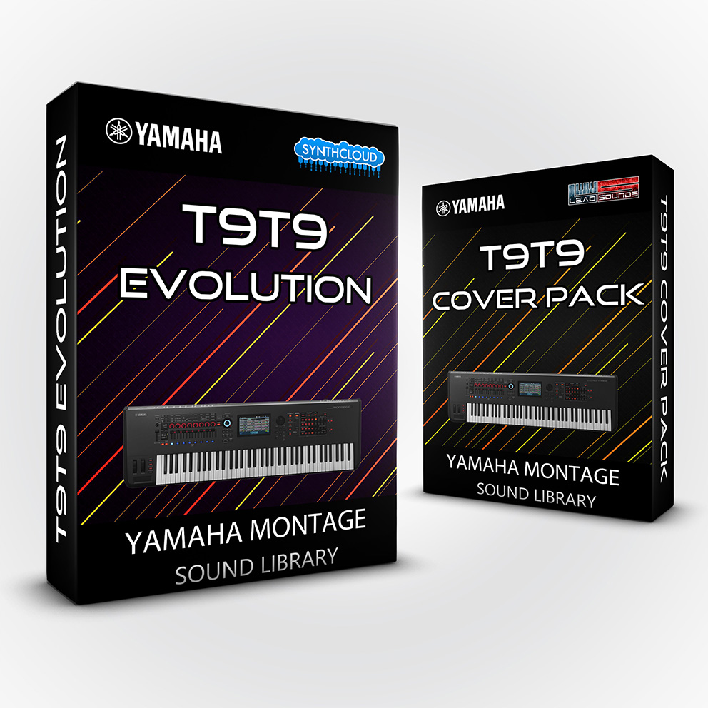 LDX202 - ( Bundle ) T9t9 Evolution + T9t9 cover pack - Yamaha MONTAGE
