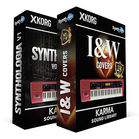 SSX135 - ( Bundle ) - Synthologia V1 + I&W Covers - Korg KARMA