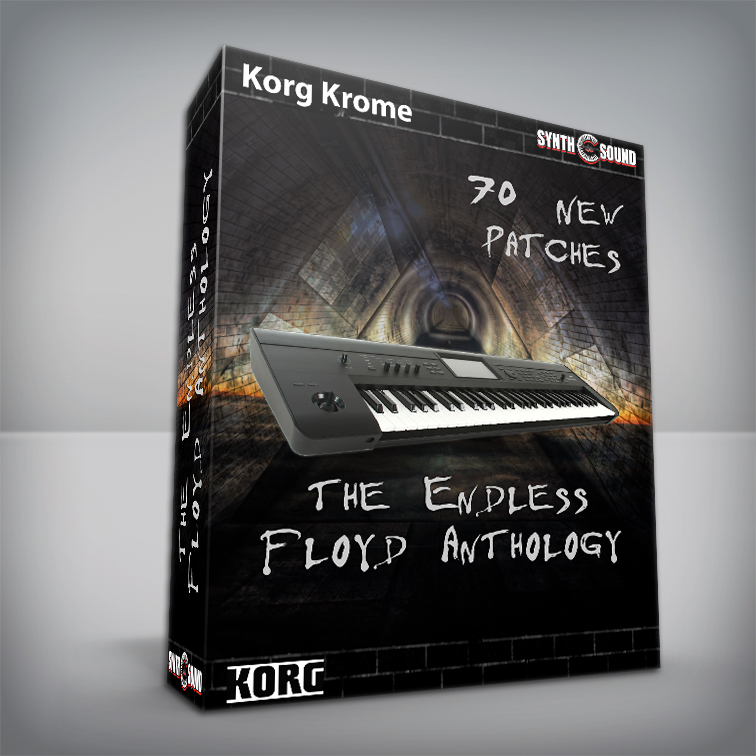 The Endless Floyd Anthology - Korg Krome + Bonus PF Cover MKI
