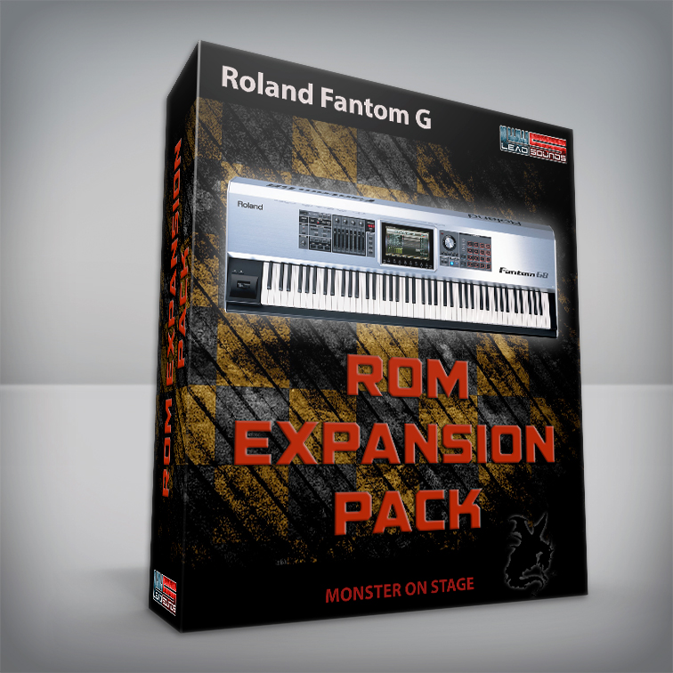 Rom Expansion Pack - Roland Fantom G
