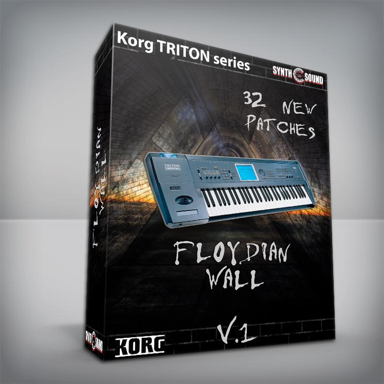 The Floydian Wall V.1 - Korg Triton series