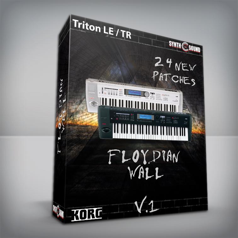 The Floydian Wall V.1 - Korg Triton LE / TR