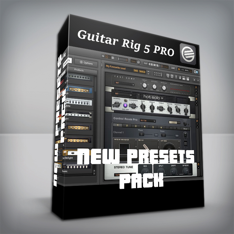 New Presets Pack - Guitar Rig