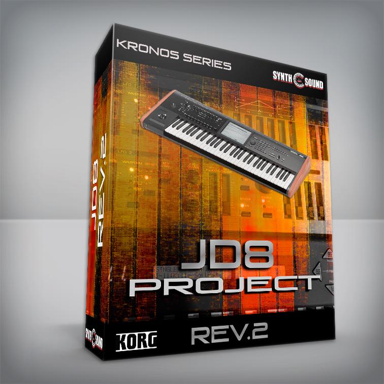 Jd8 Project Rev.2 - Korg Kronos ( Roland Jd800 Sounds )