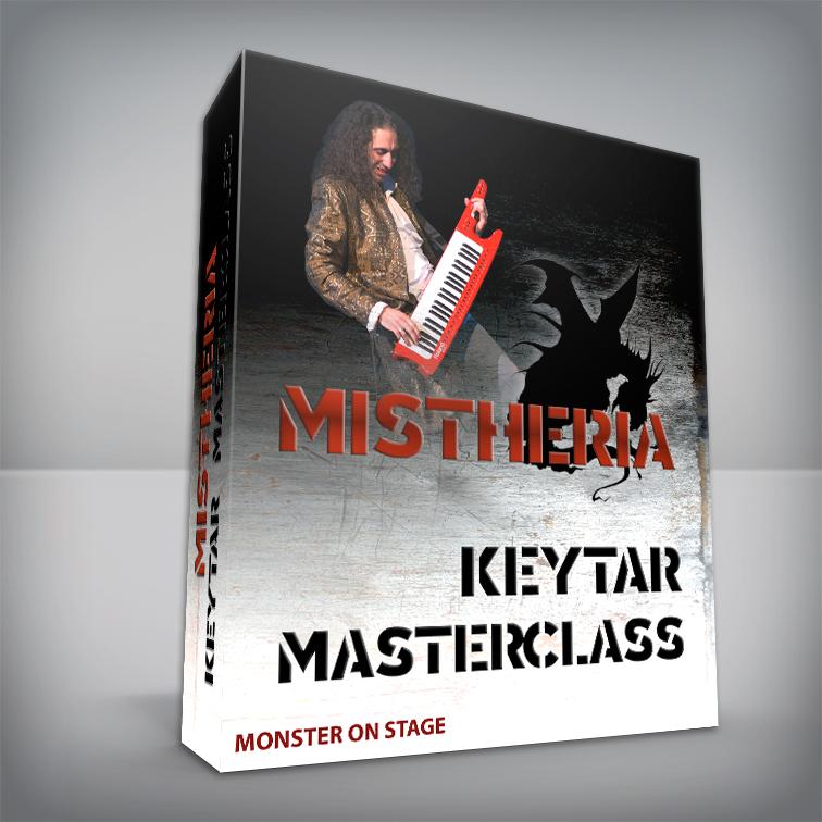 Mistheria Keytar Masterclass - Keyboard Solo Shredding Tecniques