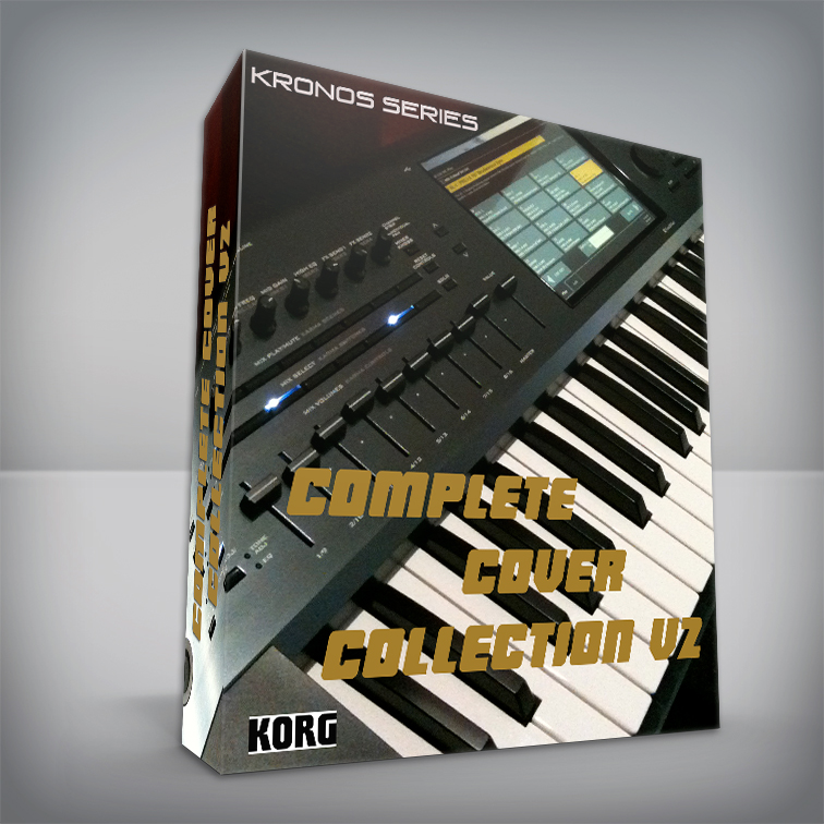 Complete Cover Collection V2 ( Pink Floyd + Queen + Toto + 80's Cover + Bonus DX sounds ) - Korg Kronos