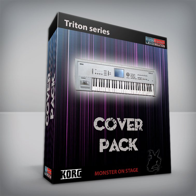 Cover Pack (Queen, Pink Floyd, Europe and many others ) - Korg Triton Series