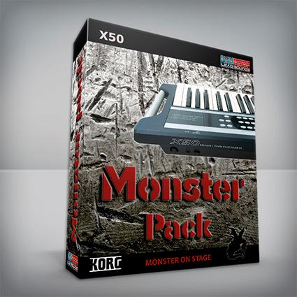 Monster Pack - Korg X50