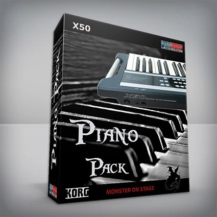 Piano Pack - Korg X50