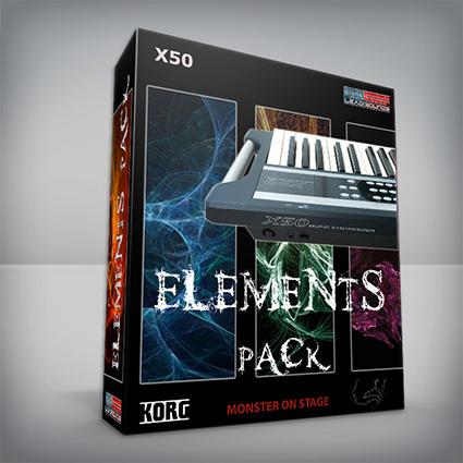 Elements Pack - Korg X50