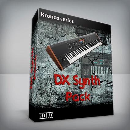 DX Synth Pack - Korg Kronos Series