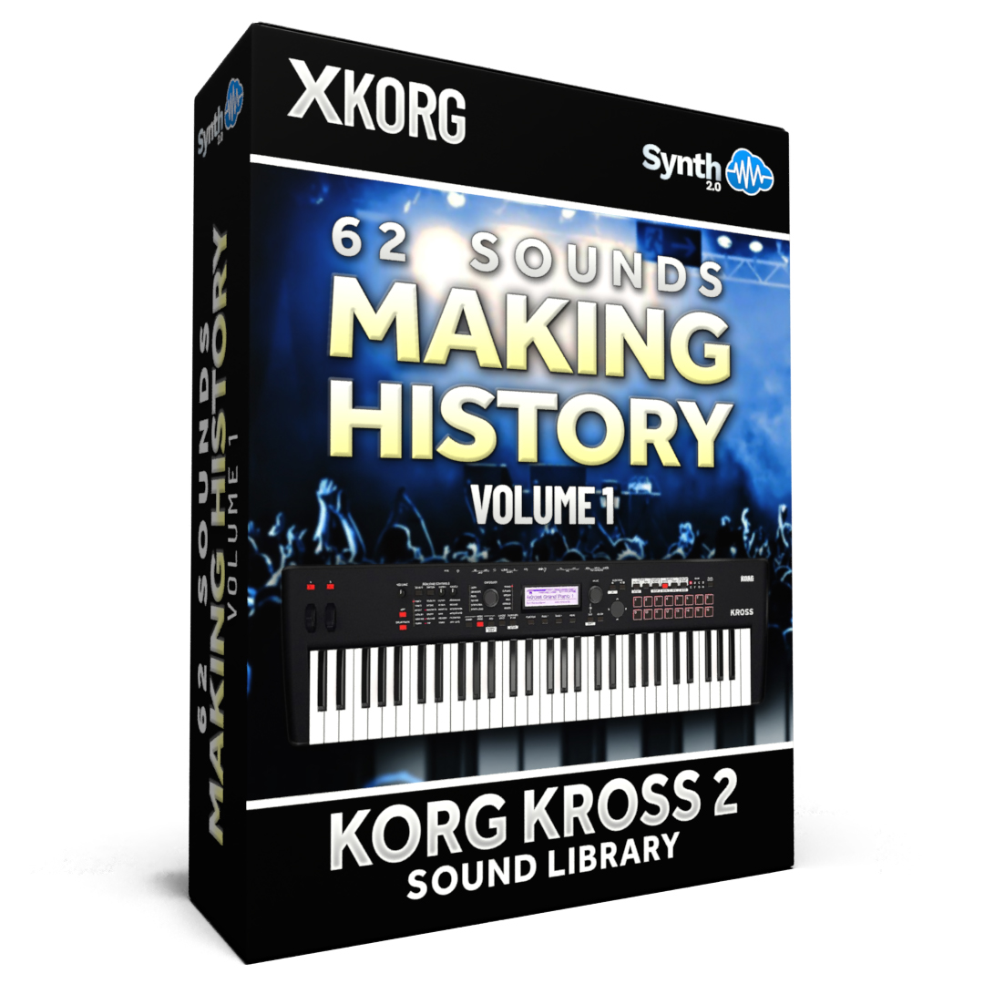 SCL152 - 62 Sounds - Making History Vol.1 - Korg Kross / 2