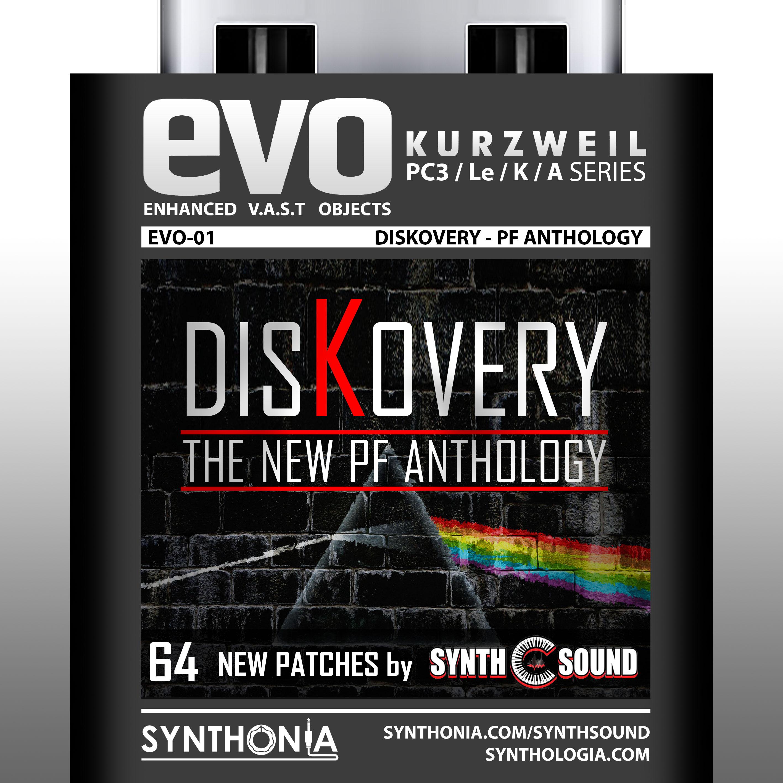EVO 01 - DisKovery PF Anthology - Kurzweil Pc3, Le, Pc3k, Pc3a