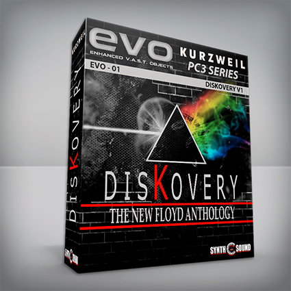 EVO 01 - DisKovery PF Anthology - Kurzweil Pc3 Series