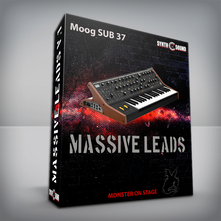 Massive Leads V.1 - Moog Sub 37