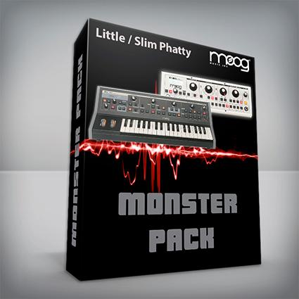 Monster Pack - Moog Little / Slim Phatty