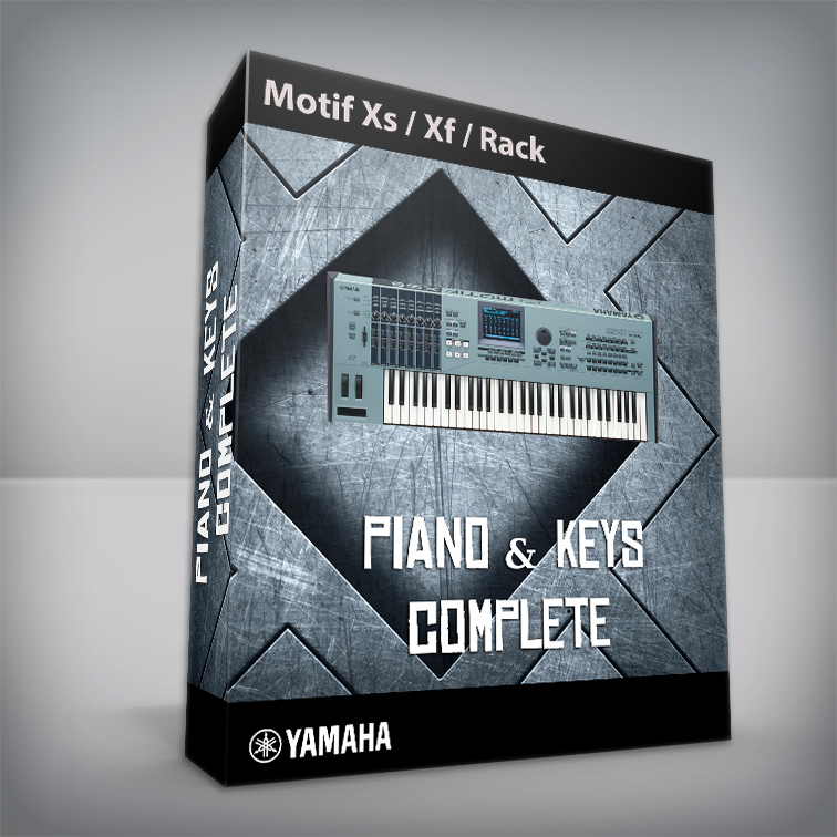 Piano & Keys / Complete - Yamaha Motif XS / XF / Rack