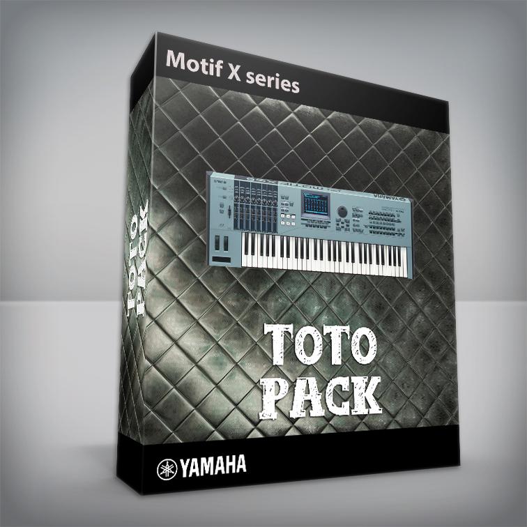 Toto Pack - Yamaha Motif X Series