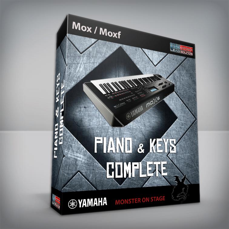 Piano & Keys / Complete - Yamaha Mox / Moxf